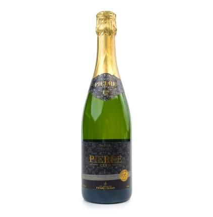 """Игристое вино белое сладкое безалкогольное """"0"""" Pierre Chavin 0.75 л, Франция"""