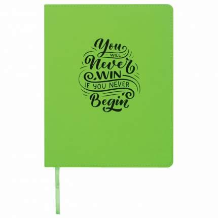 Дневник 1-11 класс Brauberg Dazzle зеленый, обложка кожзам лайт, 48 л.