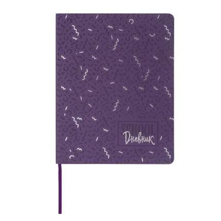 Дневник 1-11 класс Brauberg В лесу, обложка кожзам лайт, термотиснение, фольга, 48 л.