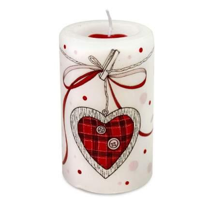 Свеча подарочная С Днем Святого Валентина 60х100