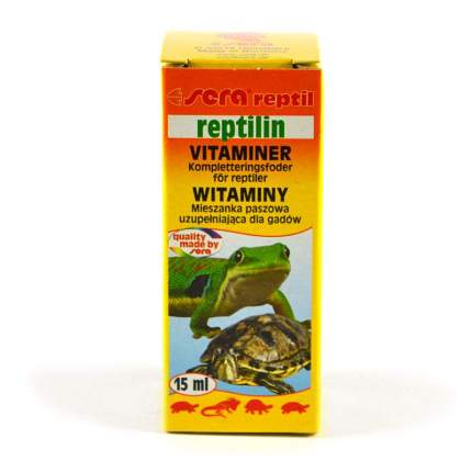 Витамины для рептилий SERA Reptilin, витаминная добавка для рептилий, 15 мл