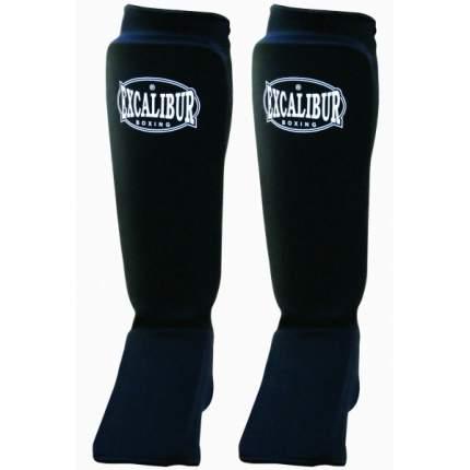 Защита голени и стопы Excalibur 1104, черная, XL