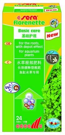 Удобрение для аквариумных растений Sera Florenette таблетки 24 шт.
