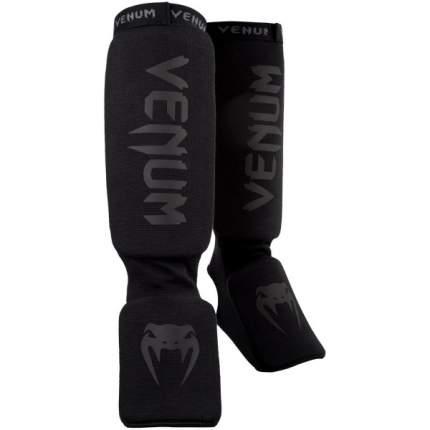 Защита голени и стопы Venum Kontact, black/black, One Size