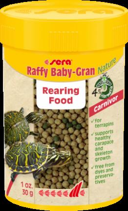 SERA Raffy Baby Gran корм в гранулах для молодых рептилий, 100мл
