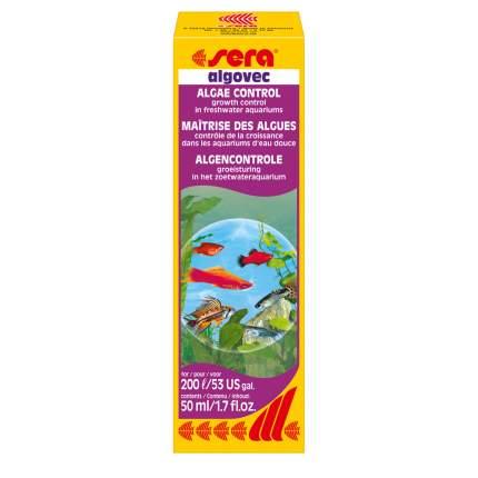 Средство для борьбы с водорослями в аквариуме Sera ALGOVEC 50 мл
