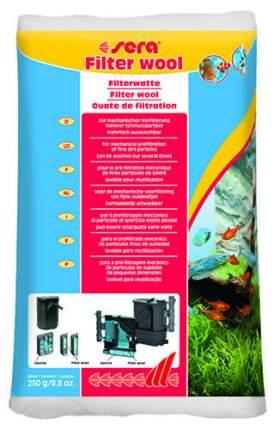 Наполнитель для внешних и внутренних фильтров Sera Filter Wool, вата, 250 г