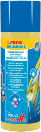 Кондиционер для аквариума Sera Aquatan 250мл