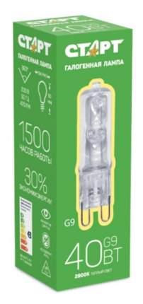 Лампа галогенная Старт G9 40Вт