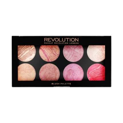 Палетка для макияжа MAKEUP REVOLUTION Blush Palette Queen 13 г