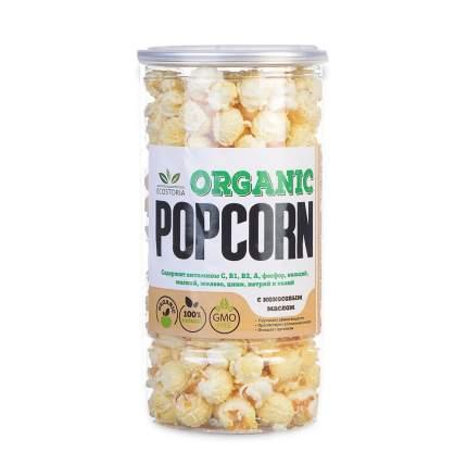 Попкорн Ecostoria Organic c кокосовым маслом 70г Россия