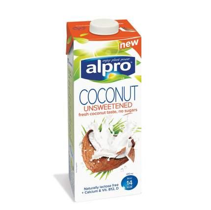 Напиток кокосовый Alpro без сахара обогащенный кальцием и витаминами 1л Бельгия