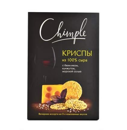 Снеки из сыра Chimple Криспы к вину 55г Россия