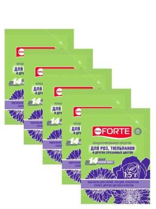 Комплект Bona Forte Средство сухое для срезанных цветов, пакет 15 гр. х 5 шт.