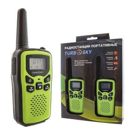 Радиостанции портативные TurboSky T25 GREEN