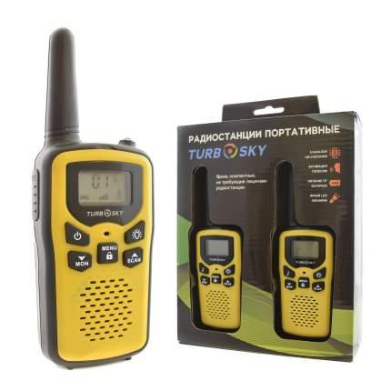 Радиостанции портативные TurboSky T25 YELLOW