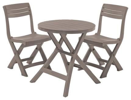 Набор садовой мебели Keter Jazz Set brown 3 предмета