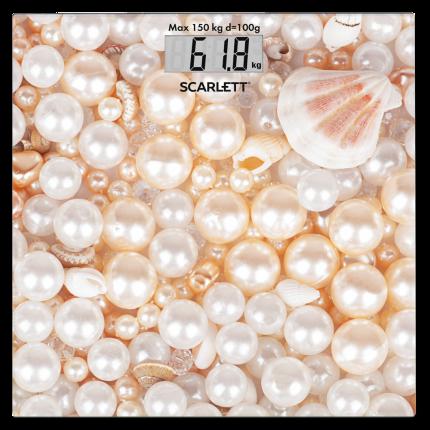 Весы напольные Scarlett SC-BS33E085 Beige