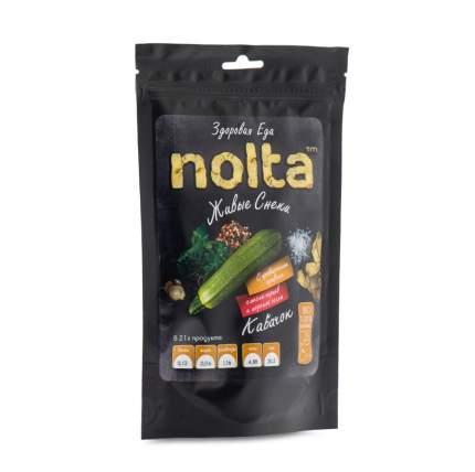 Чипсы овощные Кабачковые с прованскими травами, смесью перцев и морской солью NOLTA 31 г