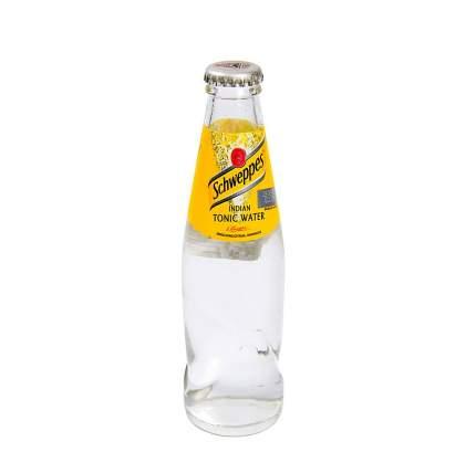 Напиток газированный Indian Tonic, стеклянная бутылка, Schweppes, 0.2 л, Великобритания