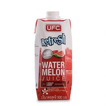 Вода арбузная REFRESH UFC (без сахара) 500мл Таиланд