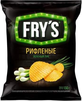 Чипсы Frys Рифленые Зеленый лук 130г
