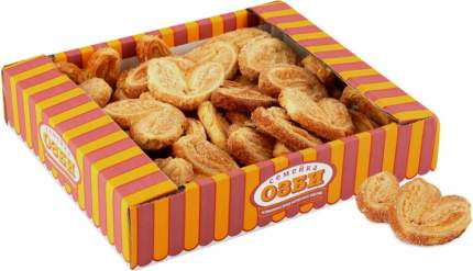 Печенье Семейка Озби Мини плюшки с сахаром лайт 500г