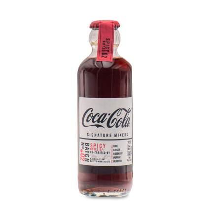Напиток безалкогольный газированный Coca-Cola Signature Mixers Spicy Notes 0.2 л, Франция