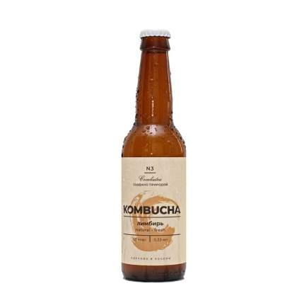 Напиток Комбуча COMBUTEA Лимбирь 330мл Россия