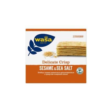 Хлебцы Wasa пшеничные с кунжутом и морской солью 190г