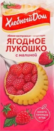 Кекс Хлебный Дом Ягодное Лукошко с малиной 2шт*70г