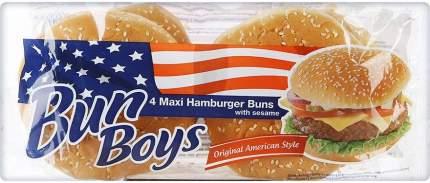 Булочка Bun Boys Maxi Гамбургер с кунжутом 4шт*75г
