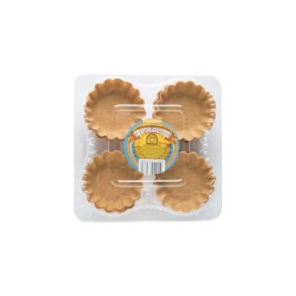 Тарталетки Валдайский Жемчуг слоеные салатные 24шт 96г
