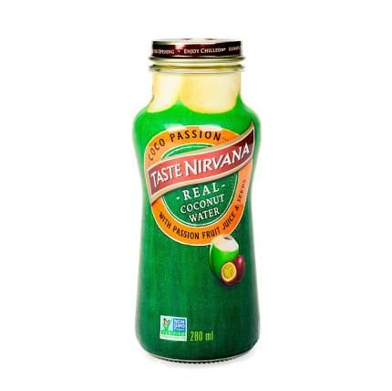 Сок Coconut кокосовый с добавлением мякоти маракуйя 280мл бутылка Таиланд