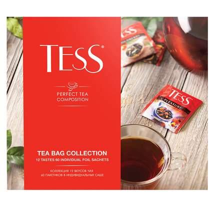 Подарочный набор Tess 12 видов чая и чайных напитков 60 пакетиков
