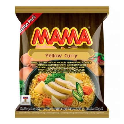 Лапша Maмa Тайская со вкусом Желтый Карри быстрого приготовления 90 г