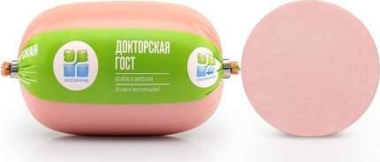 Колбаса Окраина Докторская вареная ~1 кг
