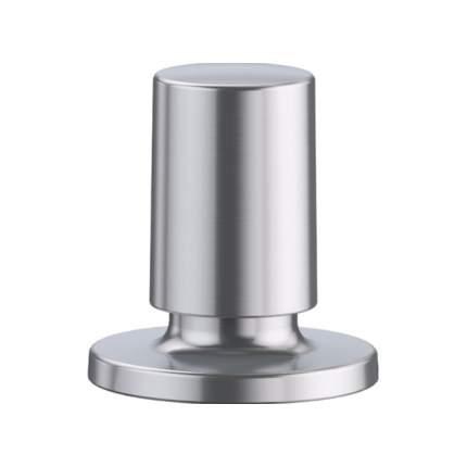 Кнопка клапана-автомата нерж, сталь зеркальная круглая