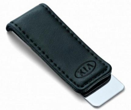 Зажим для банкнот Kia R8480AC478K Leather-Metall