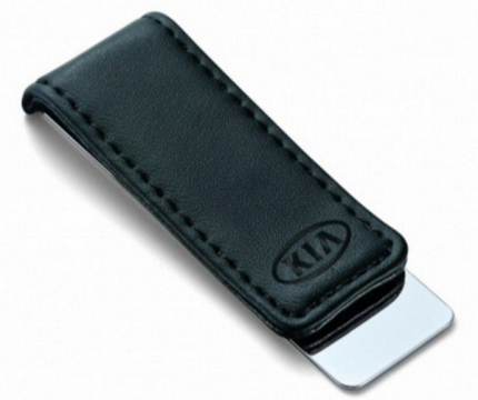 Зажим для банкнот Kia Money Clip, Leather-Metall, R8480AC478K