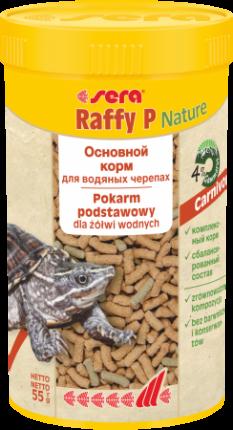 Корм для всех видов черепах SERA Raffy P, 250мл
