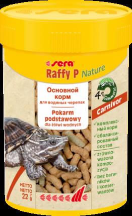 SERA Raffy P корм для всех видов черепах, 100мл