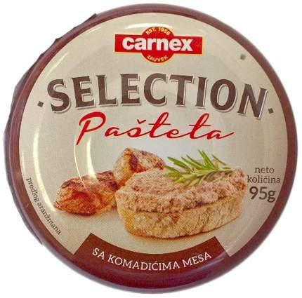Паштет из свинины Carnex Selection 95 г