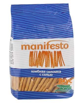 Хлебная соломка Manifesto с солью 50 г