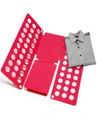 Рамка для складывания взрослой одежды CLOTHES FOLDER Красный