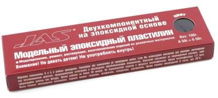 JAS Эпоксидный пластилин, темно-серый, 100 гр