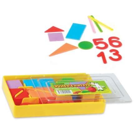 Касса цифр и счетных материалов Стамм Учись считать, 132 элемента