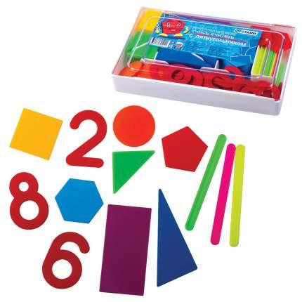 Касса цифр и счетных материалов Стамм Учись считать, 142 элемента