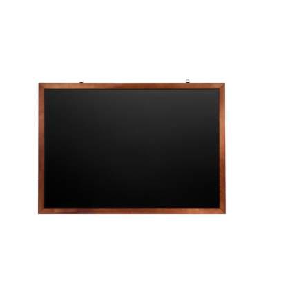 Доска для мела магнитная Brauberg черная, 100х150 см