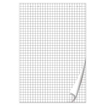Блокнот для флипчарта Brauberg 50 листов, клетка, 67,5х98 см
